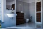 Ebony Makassar bathoom