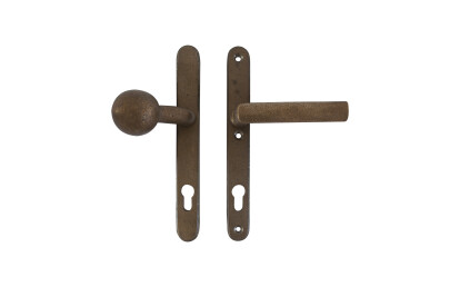 Pure PvTPh1930 door handle in Raw Bronze (RB)
