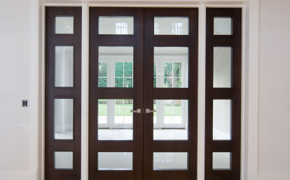 Artisan Panel Doors in luxury Ascot home