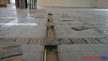 Netfloor USA ECO Cable Management Access Floor