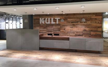 Cement sale counter in Fashion Store