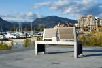Wishbone Urban Form Split Back Bench