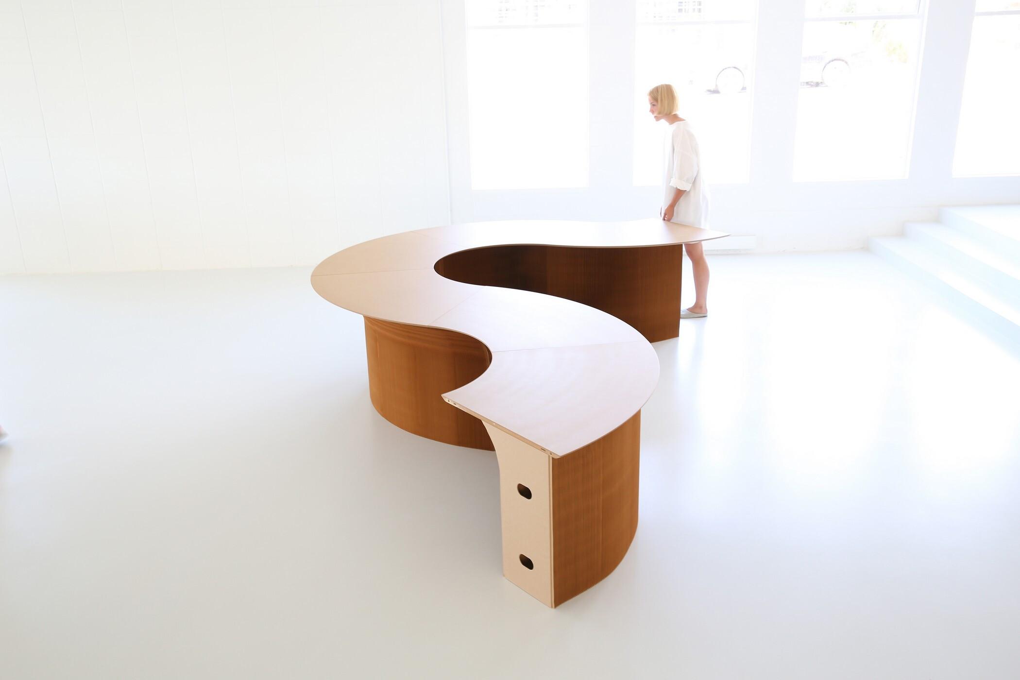 cantilever table · modular