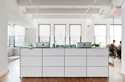 USM Haller - Reception counter