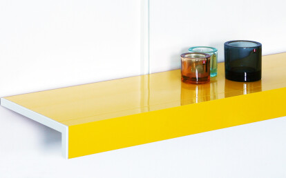 Colour shelving systems