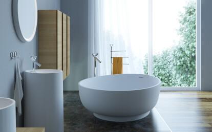 OVO Bathtub & Pillar