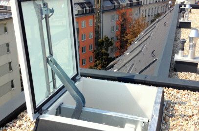 Glass Skyligt FE / F100 Smoke Lift