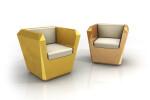Lingotto armchair
