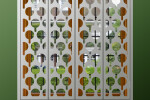 Window shutters in TRUMP design by Couture Cases