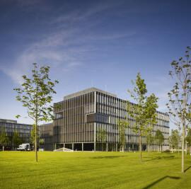 """ThyssenKrupp Headquarters' """"Room of Silence"""""""