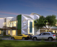 Home Architecture - Side View