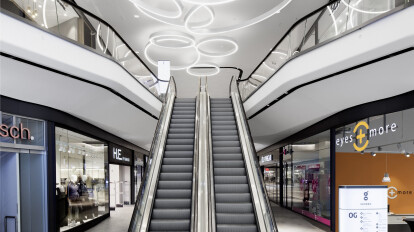 Das GERBER Shopping Mall | Ippolito Fleitz Group - Identity