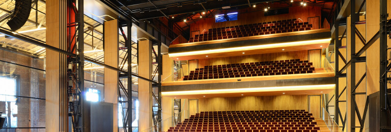 Theatre De Kampanje Glass hall