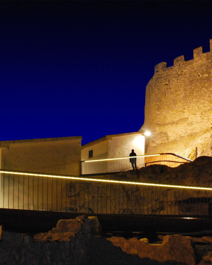 ARCHAEOLOGICAL PARK CASTLE OF CALAFELL