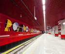 Metro Station Rondo Daszyńskiego Warsaw
