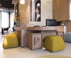 boutique hotel reception