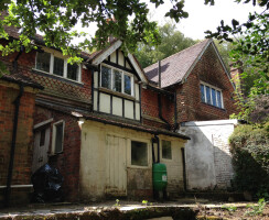 Existing 19th C Property with Lean-to at Rear