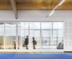 Interior of the dojo