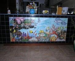 Rangeen Ceramic Hands Painted Tile