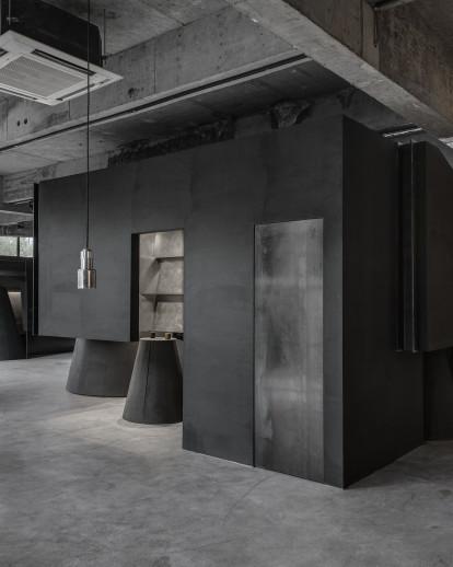 HEIKE fashion brand concept store