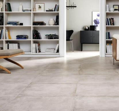 Porcelain stoneware floor tiles
