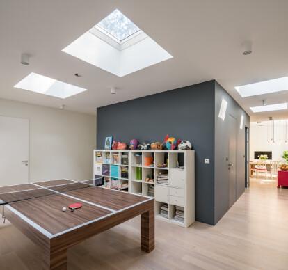 Flat roof window Type F