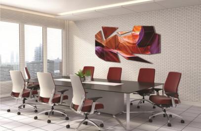 12 Panel Geometrical Wall Art