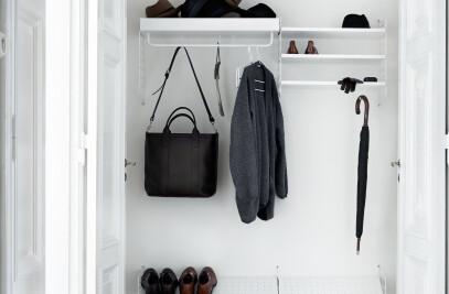 String System metal shelves