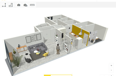 3D interior design tool
