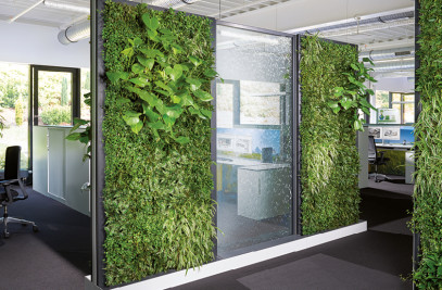 Office 4.0 Green Wall