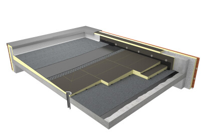 Tapered flat roof solutions