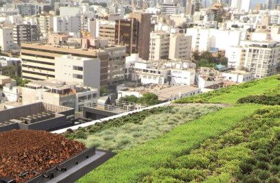 ZinCo Urban Climate Roof