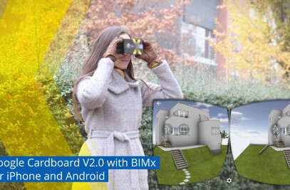BIMx with Google Cardboard VR Support