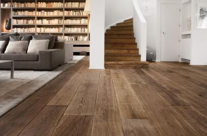 Brushed flooring