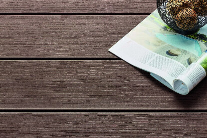 Baleares decking cocoa brown