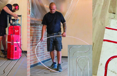 Zeromax radiant floor system
