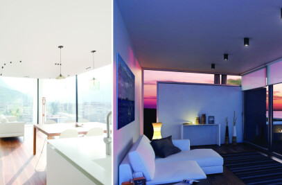 Leonardo Lux radiant ceiling system