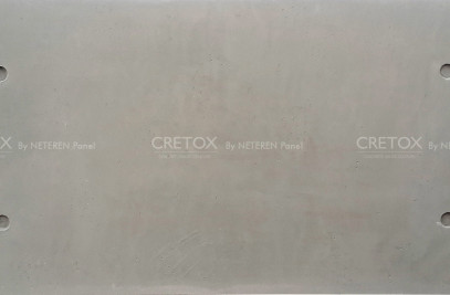 LIGHTWEIGHT SMOOTH CONCRETE PANEL // CRETOX QUATTRO SERIES