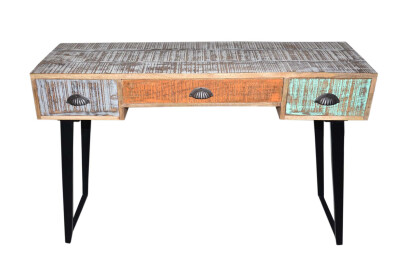 Knock Down Distressed Console Table