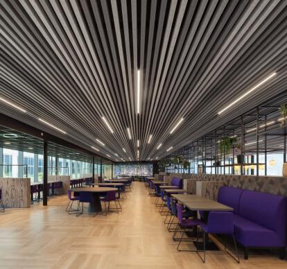 HeartFelt® - Textile Linear Ceilings Interior