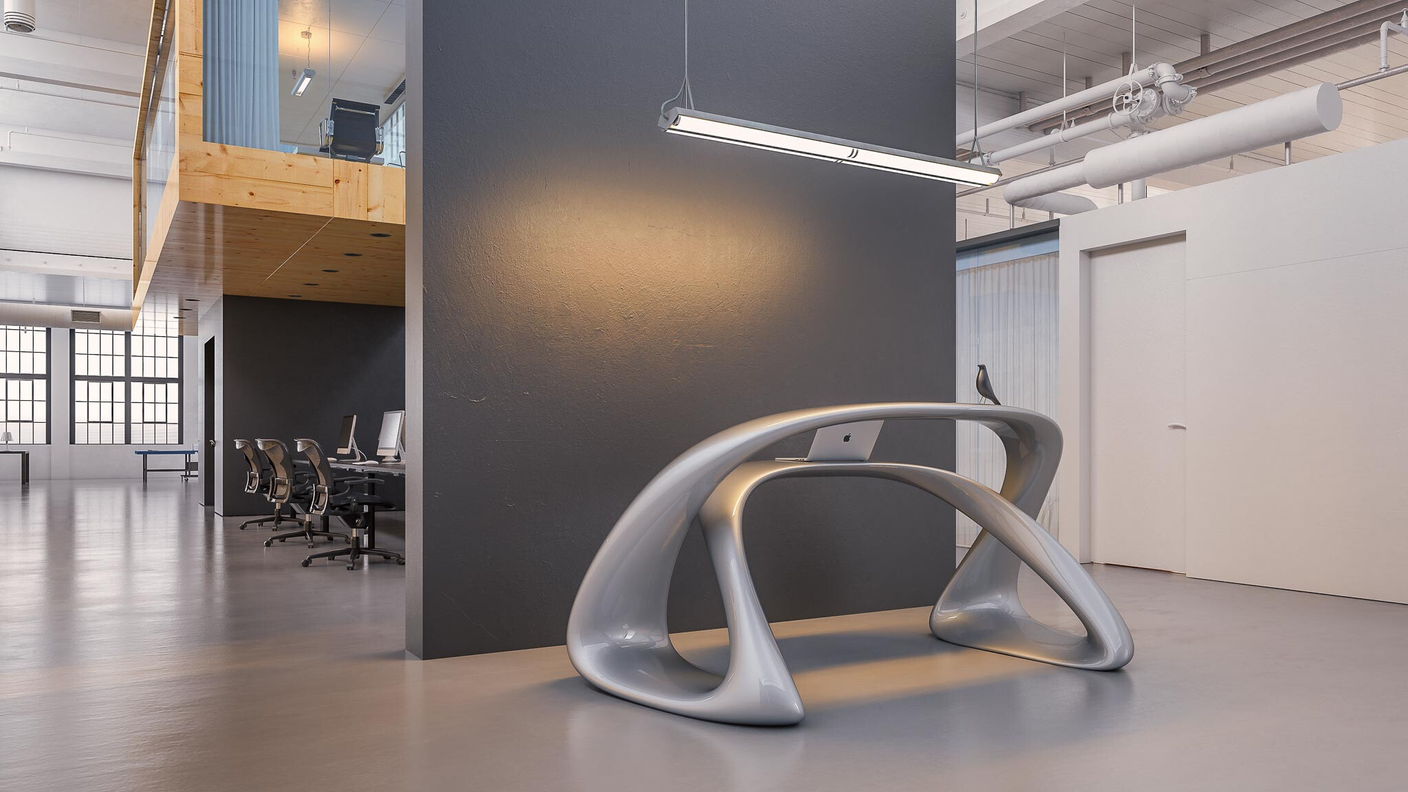 Leta Reception Desk by Nüvist