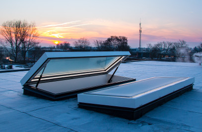 Glazed Roof Hatch - RHTG