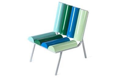 Milky armchair