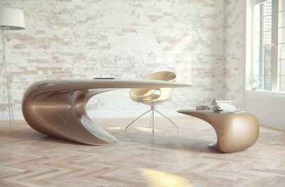 Nebbessa Desk by Nüvist
