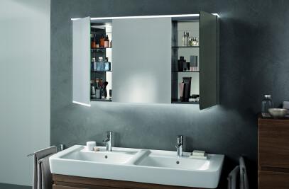 Option Mirror Cabinets