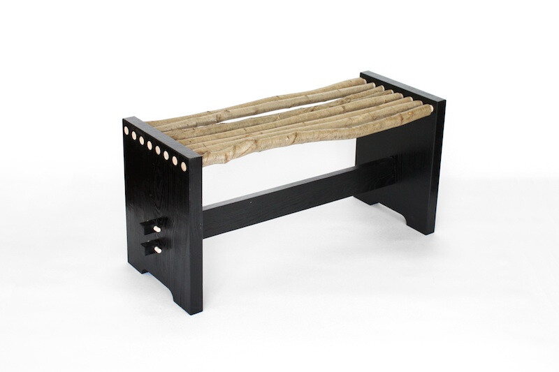 'Pole' Bench