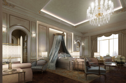 Exploring Luxurious Homes : French Style Bedroom Design