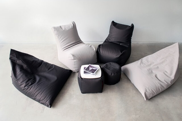 """""""Pusku pusku"""" bean bags – stylish interior accent for a night life!"""