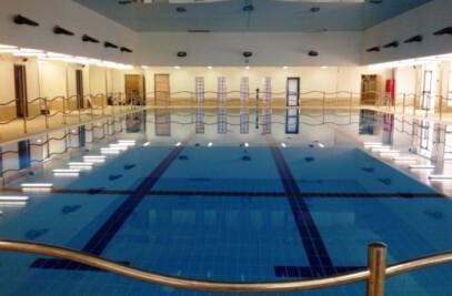 בריכת שחייה בית חינוך עיוורים