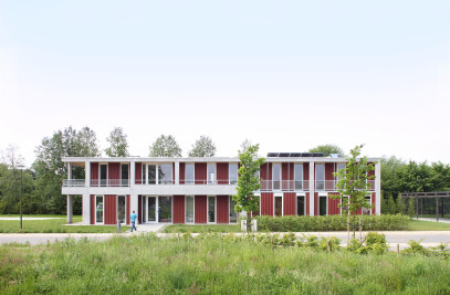 Collective housing for mentally disabled